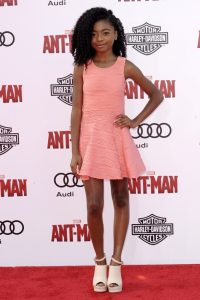 Film Premiere of Ant-Man Featuring: Skai Jackson Where: Los Angeles, California, United States When: 30 Jun 2015 Credit: Apega/WENN.com